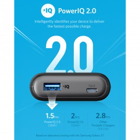 Anker PowerCore II Power Bank 10000mAh QC with Power IQ - Black - 2