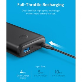 Anker PowerCore II Power Bank 10000mAh QC with Power IQ - Black - 4