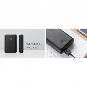 Anker PowerCore II Power Bank 10000mAh QC with Power IQ - Black - 8