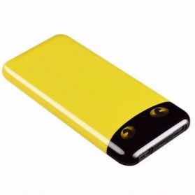 Sinofer Fashion Ultra Thin Power Bank 10000mAh - Yellow