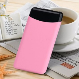Sinofer Fashion Ultra Thin Power Bank 10000mAh - Pink