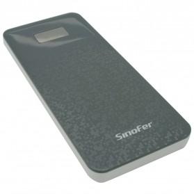 Sinofer Power Bank Ultra Slim 8000mAh (backup) - Dark Gray