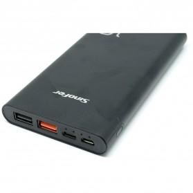Portable Power Bank USB Type C 3 Port 10000mAh - SP-19F - Black - 2
