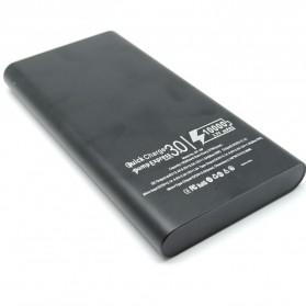 Portable Power Bank USB Type C 3 Port 10000mAh - SP-19F - Black - 3