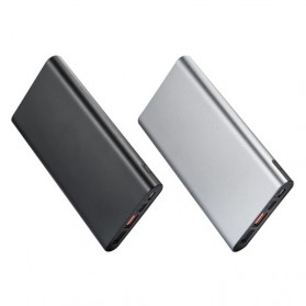 Portable Power Bank USB Type C 3 Port 10000mAh - SP-19F - Black - 4