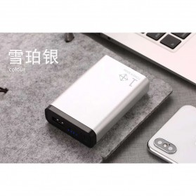 Sinofer Power Bank Mini 2 Port 10000mAh - YZ-104 - Silver