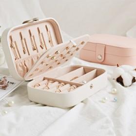 La Maxza Kotak Penyimpanan Perhiasan Organizer Jewelry Display Box - sp01161 - Pink - 2