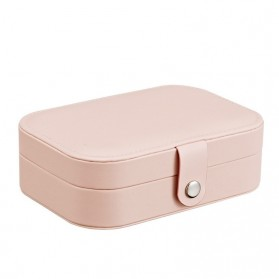 La Maxza Kotak Penyimpanan Perhiasan Organizer Jewelry Display Box - sp01161 - Pink - 3