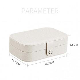 La Maxza Kotak Penyimpanan Perhiasan Organizer Jewelry Display Box - sp01161 - Pink - 6