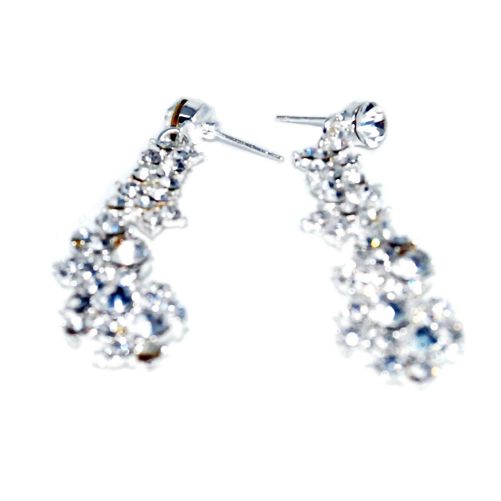 Wedding Set Diamond Pendant Perhiasan Pernikahan White 1 Titanium 2