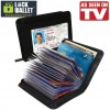 As Seen On TV / Barang Unik - Lock Wallet Dompet Kartu Kredit Secure RFID Blocking - Black