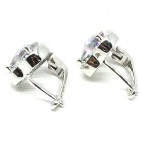 Anting Wanita Heart Zircon - Multi-Color - 2