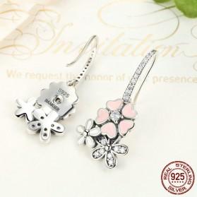 Anting Wanita Cherry Blossom - Pink - 5