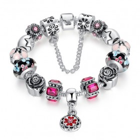 Gelang Wanita Luxury Bead - Rose