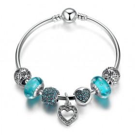 Gelang Wanita Vintage Bead - Blue