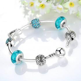 Gelang Wanita Vintage Bead - Blue - 4