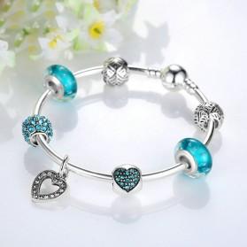 Gelang Wanita Vintage Bead - Blue - 5