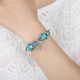 Gelang Wanita Vintage Bead - Blue - 6