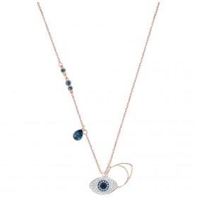 Kalung Wanita Duo Evil Eye - Golden