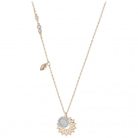 Kalung Wanita Duo Sunflower - Golden