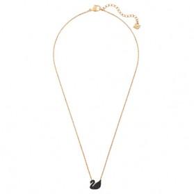 Kalung Wanita Iconic Swan Crystal - Black - 2