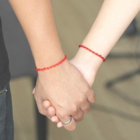 Gelang Couple Trendy Strand 2PCS - Red