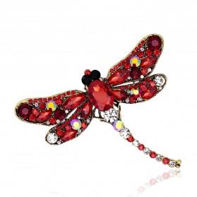 Bros Wanita Dragonfly Jewelry Kebaya Jilbab - Green - 2