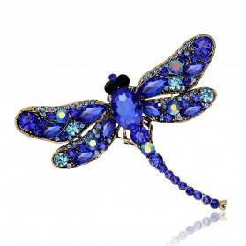 Bros Wanita Dragonfly Jewelry Kebaya Jilbab - Green - 4