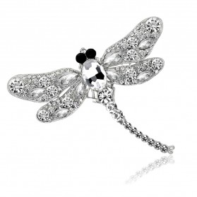 Bros Wanita Dragonfly Jewelry Kebaya Jilbab - Green - 6