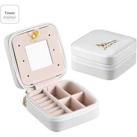 Tas Kotak Penyimpanan Perhiasan - White