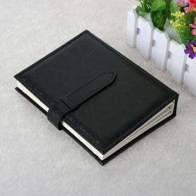 Penyimpanan Perhiasan Anting Model Buku - Black - 2