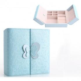 Kotak Penyimpanan Perhiasan Magnetik - Blue - 2