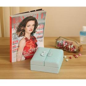 Kotak Penyimpanan Perhiasan Magnetik - Blue - 7