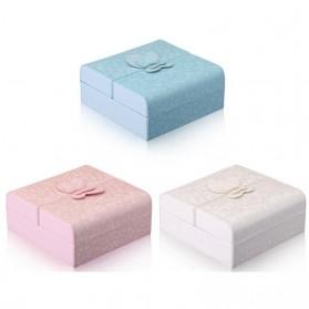 Kotak Penyimpanan Perhiasan Magnetik - Blue - 8