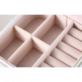 JAVRICK Kotak Penyimpanan Perhiasan Organizer Accessories - SP01161 - Black - 3
