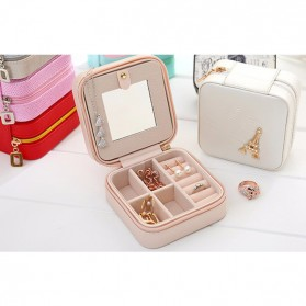 JAVRICK Kotak Penyimpanan Perhiasan Organizer Accessories - SP01161 - Black - 5