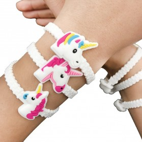 Gelang Tangan Cute Model Unicorn 1PCS - White