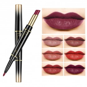Pudaier Long Lasting Nude Color Double Head Lipstick + Lip Liner No.08 - 3