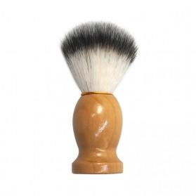 Pembersih Cukur Rambut Baber Salon Pria Shaving Brush dengan Tray - dss003 - Brown - 4