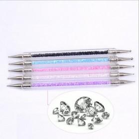 Kuas Kutek Kuku Nail Art Tool Dotting Pen 5 PCS - SKU000222 - Multi-Color - 3