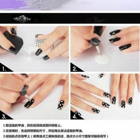 Kuas Kutek Kuku Nail Art Tool Dotting Pen 5 PCS - SKU000222 - Multi-Color - 9