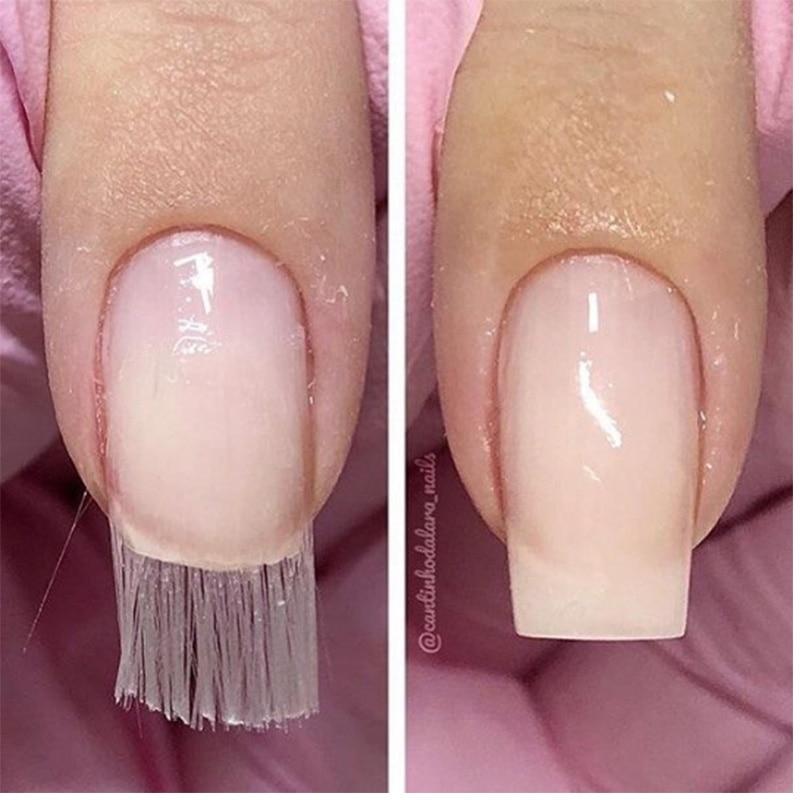 Nail Art Dan Extension Kuku: Major Extension Kuku Fiberglass Silk Nail Art Polish Wraps