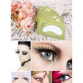 ZWELLBE Sticker Mata Patch Eyelash Extension Tools 50 Pairs - Golden - 7