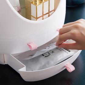 OkusLife Rak Perhiasan Make Up Storage Box dengan Cermin - JCQ1041 - White - 5