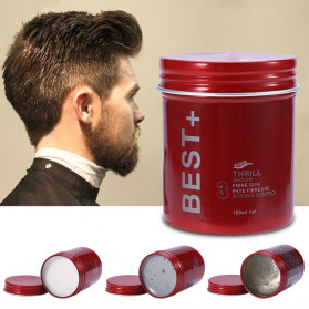 BEST+ Pomade Rambut Hair Wax Long Lasting Fluffy 100ml