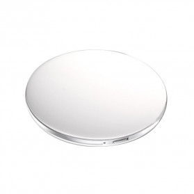 ICOCO Cermin Lipat Makeup Pocket Size Foldable Mirror with LED Light - FH-804 - White - 2