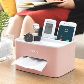 ECOCO Storage Box Kotak Penyimpanan Office Desk Case Organizer - E1602 - Gray - 5