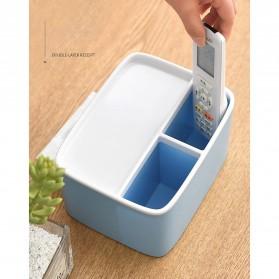 ECOCO Storage Box Kotak Penyimpanan Office Desk Case Organizer - E1602 - Gray - 6