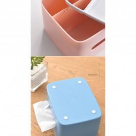 ECOCO Storage Box Kotak Penyimpanan Office Desk Case Organizer - E1602 - Gray - 7