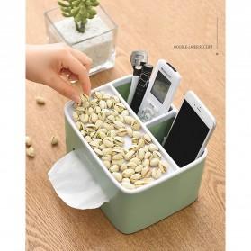 ECOCO Storage Box Kotak Penyimpanan Office Desk Case Organizer - E1602 - Gray - 9